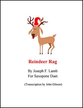 Reindeer Rag for Sax Duet