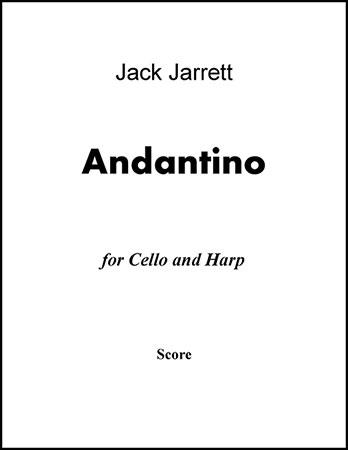 Andantino for Cello and Harp