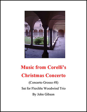 Corelli Christmas Concerto selection - woodwind trio