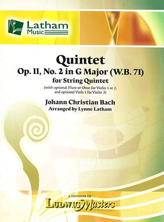 Quintet, Op. 11, No. 2 in G Major (W.B. 71)