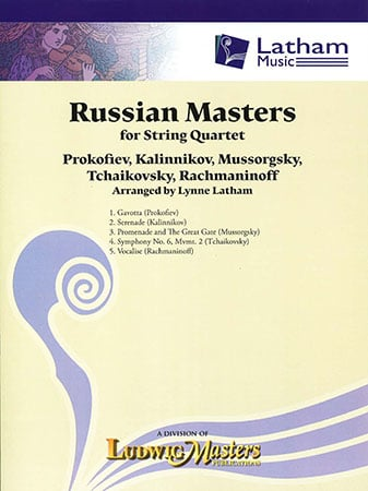 Russian Masters for String Quartet