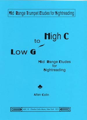 Low G to High C Mid Range Etudes for Sightreading