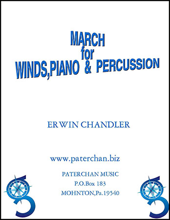 March for Winds, Piano, Percussion