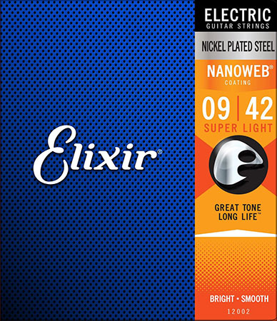 Electric Guitar Strings Nanoweb