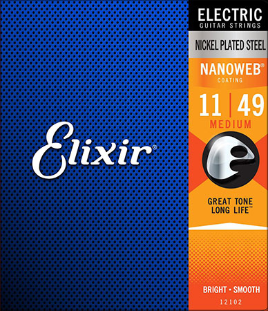 Electric Guitar Strings Nanoweb 12102