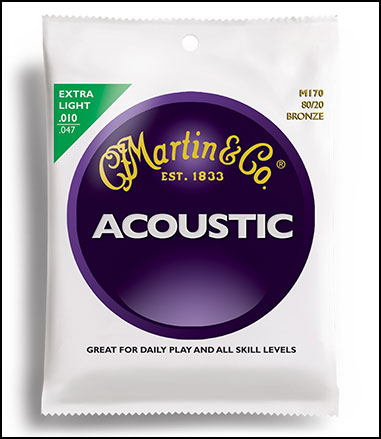 Acoustic Guitar Strings 80/20  Bronze