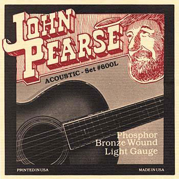 Acoustic Guitar Strings Phosphor Bronze 600L