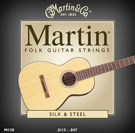 Acoustic Guitar Strings Silk and Steel
