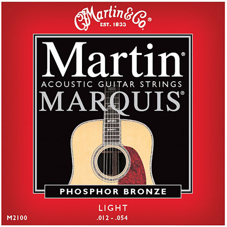 Acoustic Guitar Strings Marquis 92/08 Phosphor Bronze M2100