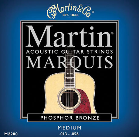Acoustic Guitar Strings Marquis 92/08 Phosphor Bronze M2200