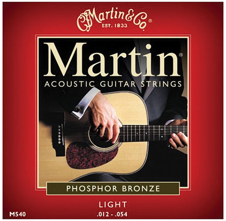 Acoustic Guitar Strings Traditional 92/8 M540