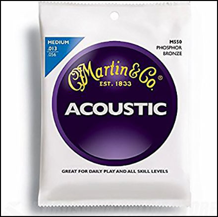 Acoustic Guitar Strings Phosphor Bronze M550