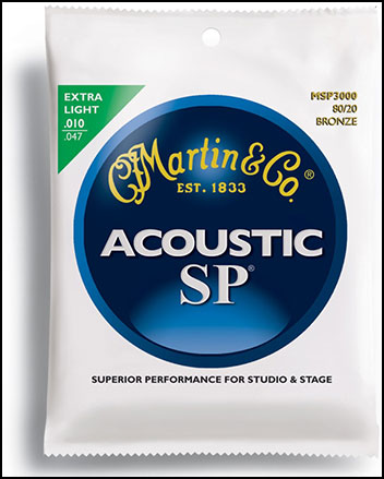 Acoustic Guitar Strings 80/20 Bronze SP