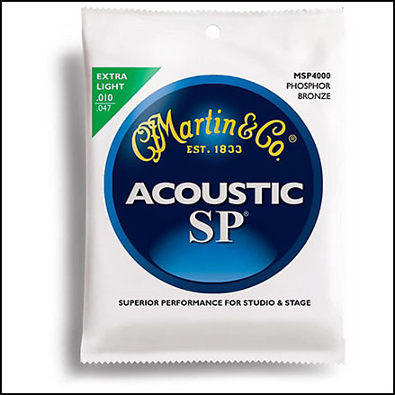 Acoustic Guitar Strings Phosphor Bronze SP 1047
