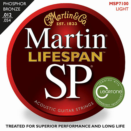 Acoustic Guitar Strings Lifespan 92/8 Phosphor Bronze SP 7100