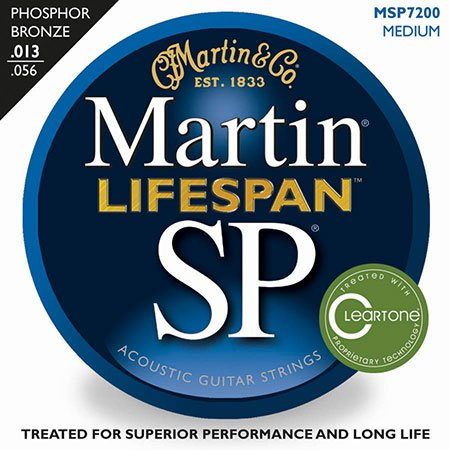 Acoustic Guitar Strings Lifespan 92/8 Phosphor Bronze SP 7200
