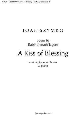 A Kiss of Blessing