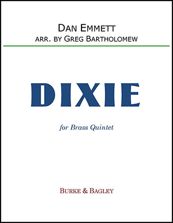 Dixie for brass quintet