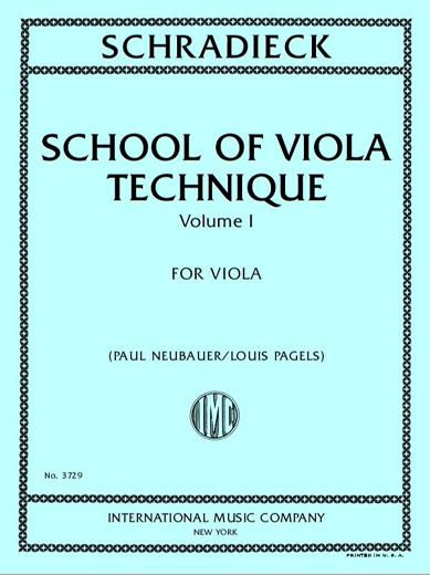 School of Viola Technique, Vol. 1