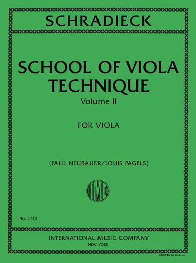School of Viola Technique, Vol. 2