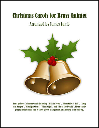 Christmas Carols for Brass Quintet