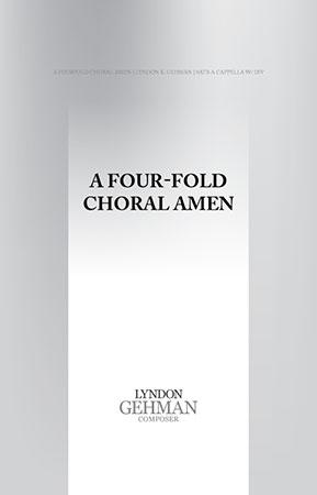 A Fourfold Choral Amen