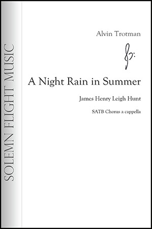 A Night Rain in Summer