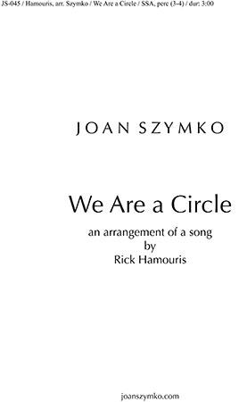 We Are a Circle