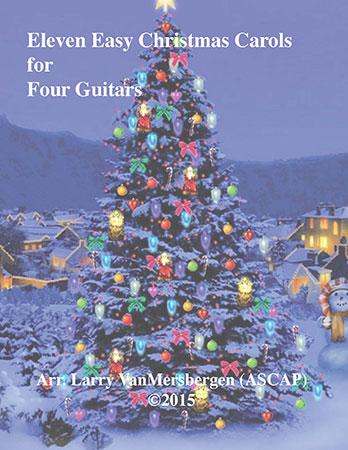 Eleven Easy Carols for Four Guitars