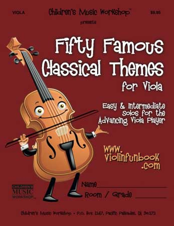 Fifty Famous Classical Themes Cover