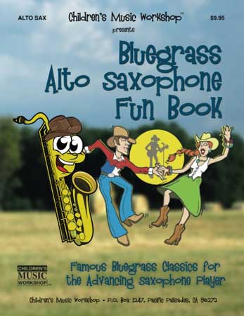Bluegrass Alto Sax Fun Book Cover