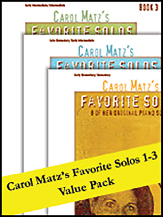 Favorite Solos, Books 1 - 3