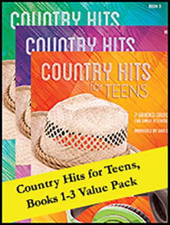 Country Hits for Teens, Books 1 - 3