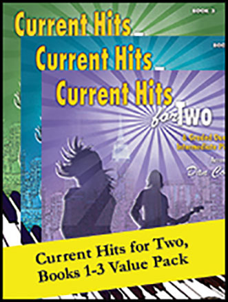 Current Hits for Two, Books 1 - 3