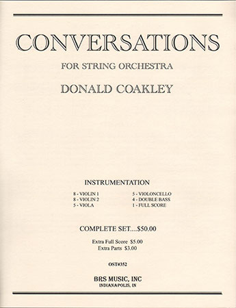 Conversations for String Orchestra