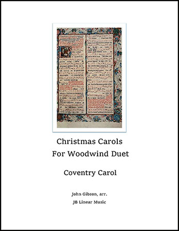 Coventry Carol for Woodwind Duet
