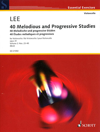 40 Melodious and Progressive Studies, Op. 31, Vol. 2