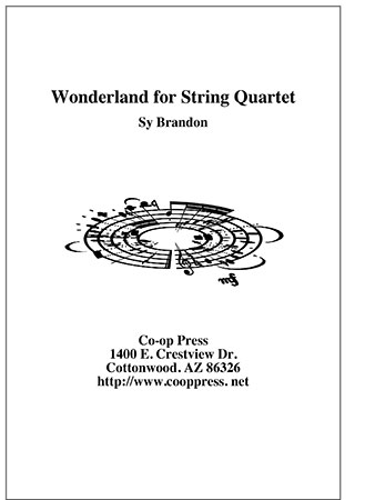 Wonderland for String Quartet Thumbnail
