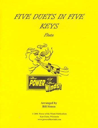 Five Duets in Five Keys for Flute
