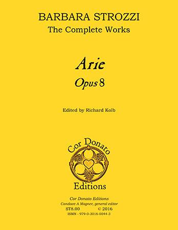 Arie, Op. 8