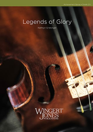 Legends of Glory choral sheet music cover