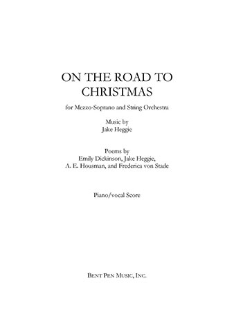 on the road to christmas cover - The Road To Christmas