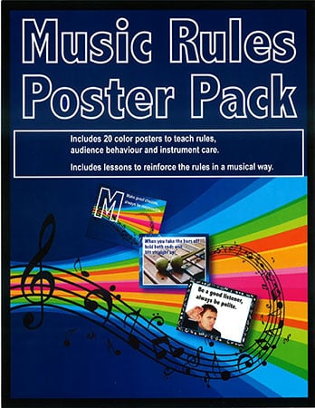 Music Rules Poster Pack