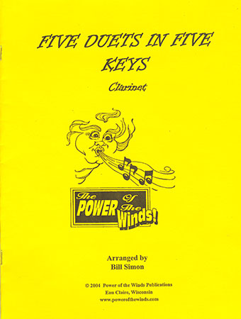 Five Duets in Five Keys for Clarinet