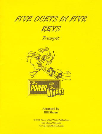 Five Duets in Five Keys for Trumpet