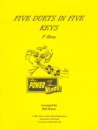 Five Duets in Five Keys for F Horn