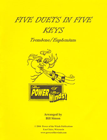 Five Duets in Five Keys for Trombone or Euphonium