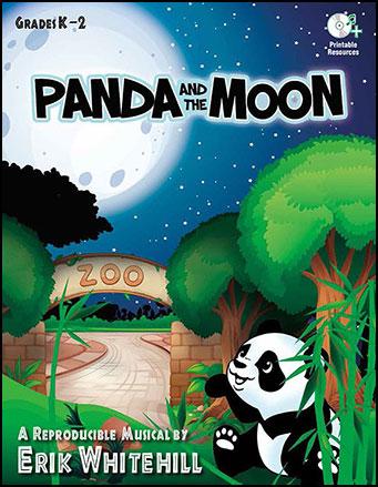 Panda and the Moon