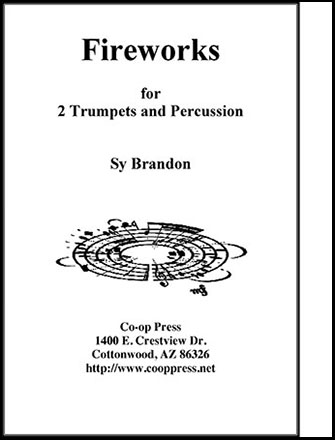 Fireworks for Two Trumpets and Percussion Thumbnail