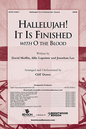 Hallelujah! It is Finished with O the Blood
